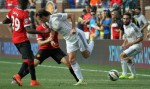 gareth bale back heel 150x89 Manchester United 3 1 Real Madrid: International Champions Cup [PHOTOS]