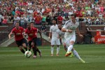 gareth bale penalty 150x100 Manchester United 3 1 Real Madrid: International Champions Cup [PHOTOS]