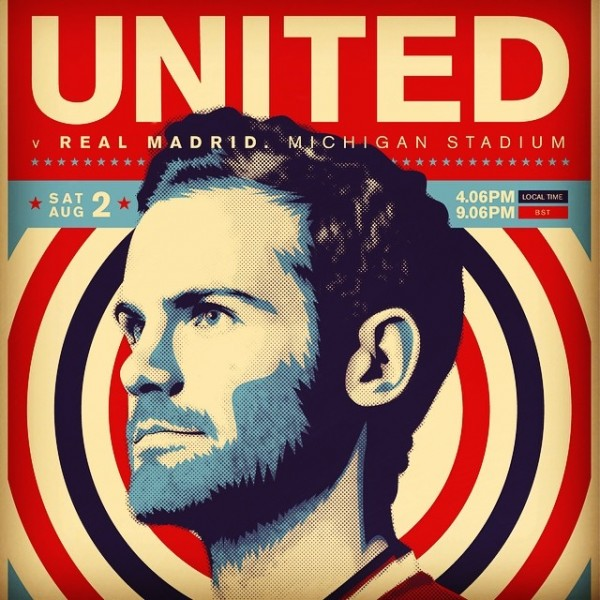 juan mata 600x600 Manchester United vs Real Madrid, International Champions Cup Open Thread