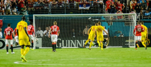 liverpool man utd 600x268 Manchester United vs Liverpool, International Champions Cup Final in Miami [PHOTOS]