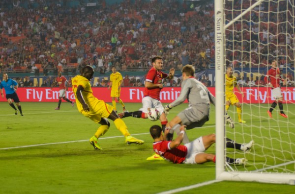 liverpool manchester united 600x396 Manchester United vs Liverpool, International Champions Cup Final in Miami [PHOTOS]
