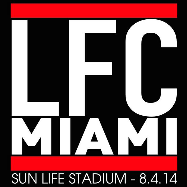 liverpool miami Manchester United and Liverpool to Play In Miami in International Champions Cup Final