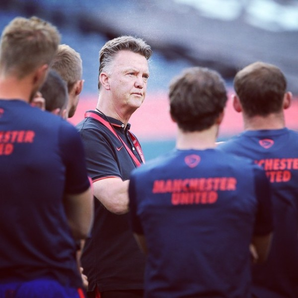 louis van gaal1 600x600 Manchester United Fans Will Need to Prepare For a Season of Tedious Tactics Under Louis Van Gaal