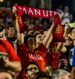man utd fan 150x158 Manchester United vs Liverpool, International Champions Cup Final in Miami [PHOTOS]
