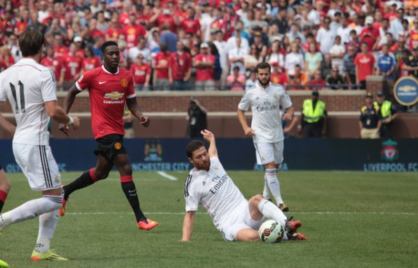 man utd real madrid 600x384 Manchester United 3 1 Real Madrid: International Champions Cup [PHOTOS]