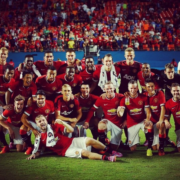 manchester united 600x600 Manchester United Wins 2014 International Champions Cup [VIDEO]