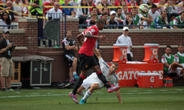 manchester united real madrid1 600x360 Manchester United 3 1 Real Madrid: International Champions Cup [PHOTOS]