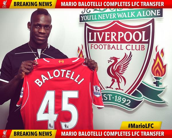 mario balotelli3 How Mario Balotelli Will Fit Into Liverpools Attacking Lineup