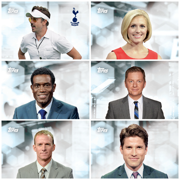 nbc epl topps Topps Releases Limited Edition Cards Of NBCs Premier League Announcing Team [PHOTOS]