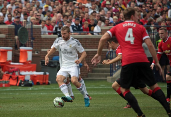 real madrid 600x410 Manchester United 3 1 Real Madrid: International Champions Cup [PHOTOS]