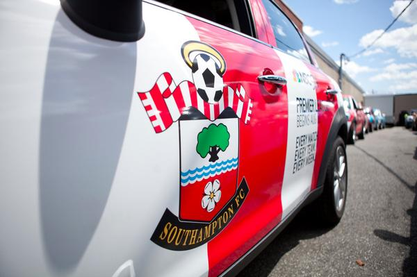 southampton uber mini Premier League Mini Coopers Spotted On the Streets of New York City [PHOTOS]