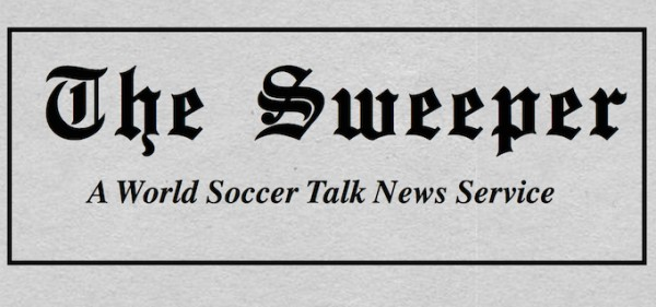 sweeper 6 600x281 The Sweeper: 10 Soccer Stories You May Have Missed This Week