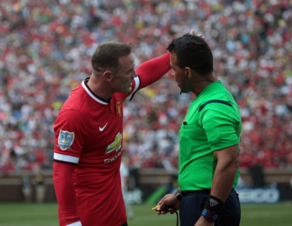 wayne rooney 600x464 Manchester United 3 1 Real Madrid: International Champions Cup [PHOTOS]