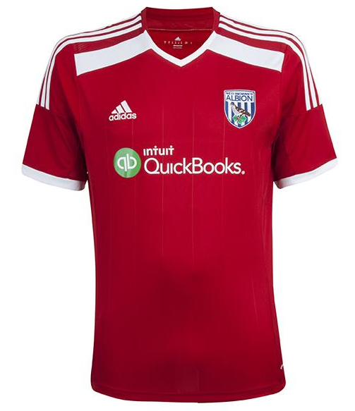 West Bromwich Albion Away Shirt for 2014/15 Season: Official [PHOTOS]