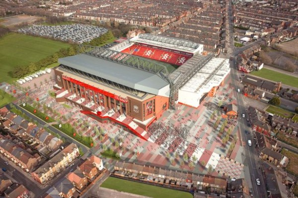 Liverpool Granted Permission To Redevelop Anfield By City Council