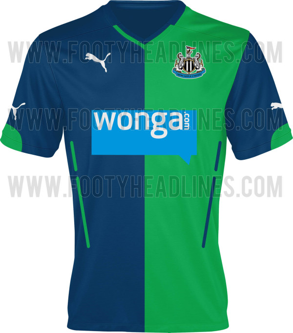 Newcastle United's 2014-15 Blue/Green Third Kit Reviewed