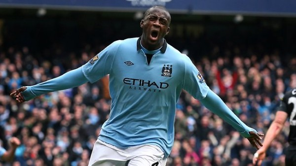 Yaya Toure's Form Is Pivotal To Manchester City's Title Hopes