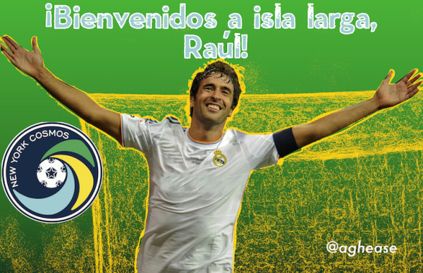 Signing Ex-Real Madrid Legend Raul Would Be A Major Coup For New York Cosmos