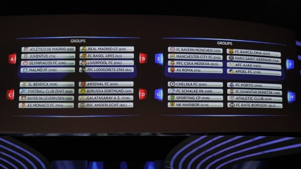 UEFA1 600x337 UEFA Introducing Changes To Champions League Seeding; Top Seeds Go To Title Winners Only
