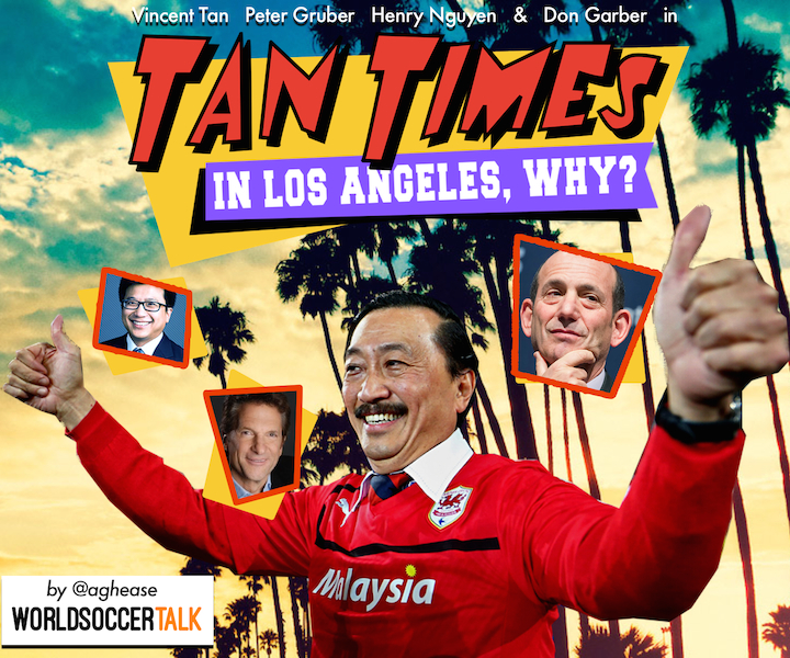 Entertaining Vincent Tan Will Add Spice to New LA MLS Team [PHOTOS]