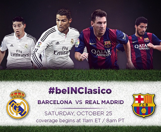 Real Madrid vs Barcelona: Starting Lineups, TV & Internet Schedule and Open Thread