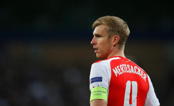 Per Mertesacker: Arsenal's Passing Game Isn't Efficient Enough