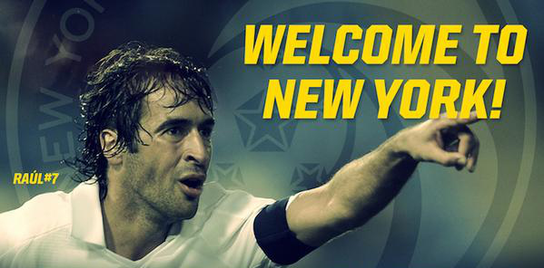 How New York Cosmos Star Signing Raul Compares to Frank Lampard and David Villa
