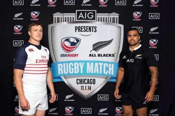 NBC to Broadcast USA vs New Zealand All Blacks Rugby Match on Saturday