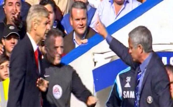 Watch Jose Mourinho and Arsene Wenger Post-Match Interviews [VIDEO]