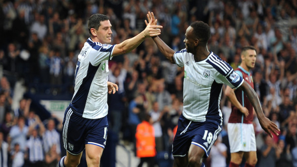 Soccer - Barclays Premier League - West Bromwich Albion v Burnley - The Hawthorns