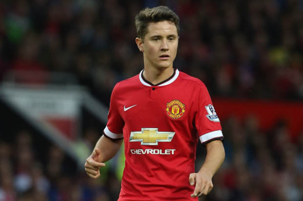 Ander Herrera Biding His Time While Louis Van Gaal Finds 'Balance' At Manchester United