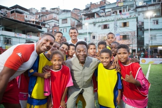 Brazil Legend Pele In Sao Paulo Special Care Unit