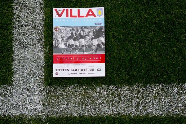 Aston Villa vs Tottenham Hotspur; Starting Lineups, TV Times & Open Thread