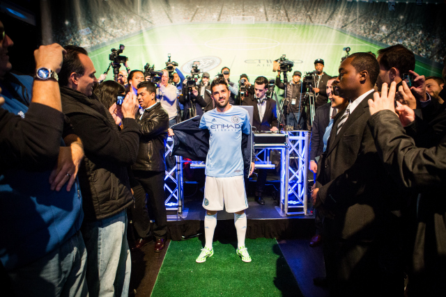 New York City FC Puts On Quite a Show For Unveiling Of Home Shirt