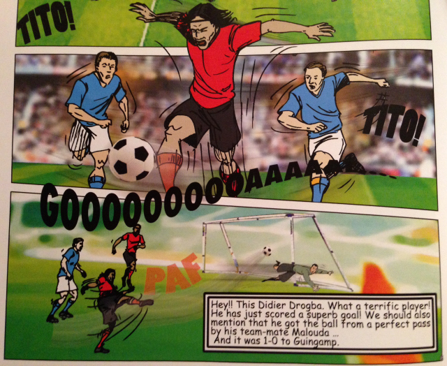 Review of Didier Drogba Comic Book, 'From Tito to Drogba'