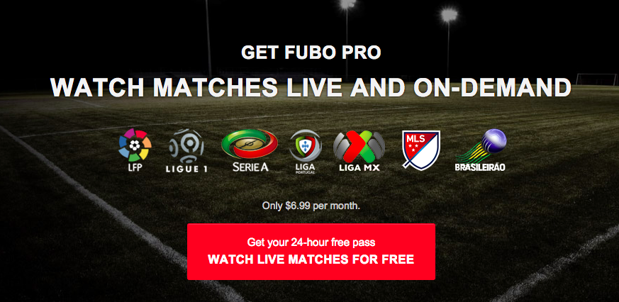 fubotv banner Championship TV and Internet Schedule For US Viewers