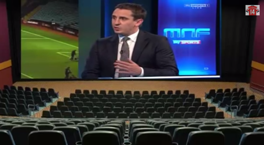 Watch Gary Neville Analyze Arsenal's Defensive Deficiencies Against Man Utd [VIDEO]