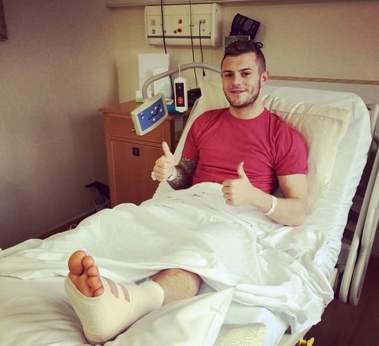 Jack Wilshere Out for 3 Months After Undergoing Surgery