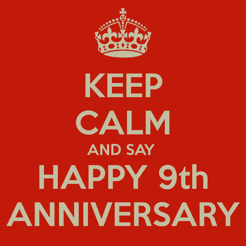 keep-calm-and-say-happy-9th-anniversary