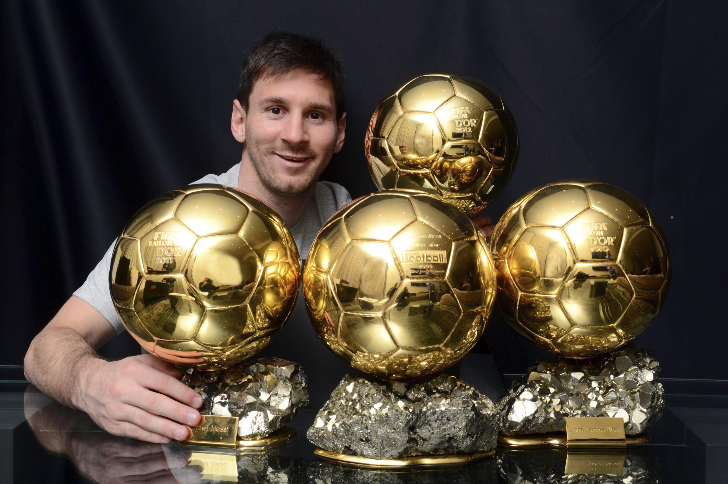 Image Result For Messi Trophies