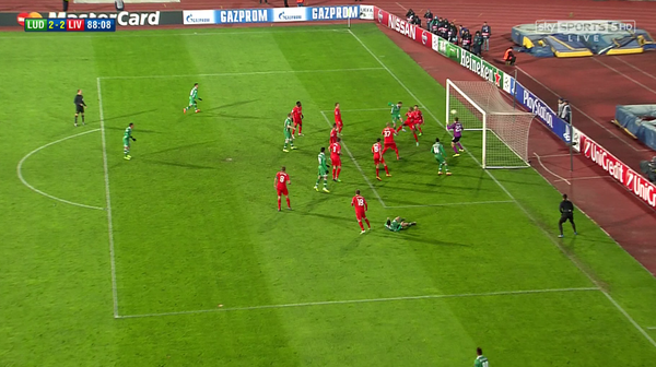 Watch Ludogorets 2-2 Liverpool Match Highlights [VIDEO]