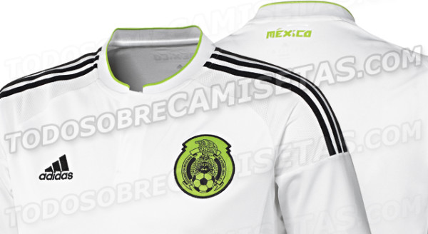 Mexico's Away Shirt For 2015 Looks Like Real Madrid: Leaked [PHOTOS]