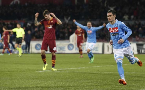 napoli roma callejon  600x375 Serie A Preview, Gameweek 10: Small Margins Separate Italian Clubs