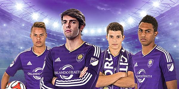 Orlando City Unveils Debut MLS Jersey [PHOTOS]