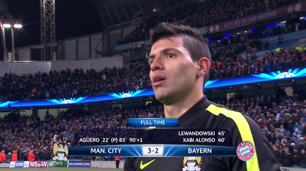 Watch Manchester City 3-2 Bayern Munich Match Highlights [VIDEO]