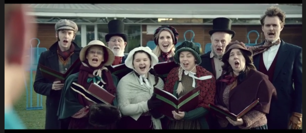 Funny! Watch Christmas Carolers Sing Popular English Soccer Chants [VIDEO]