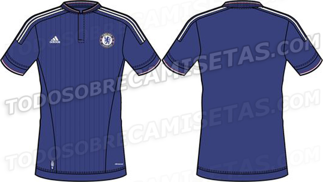 Chelsea Home Shirt 2015 Leaked