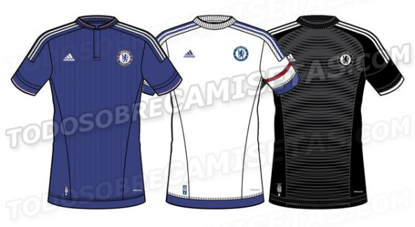 Chelsea Home, Away and Third Shirts for 2015/16 Season: Leaked [PHOTOS]