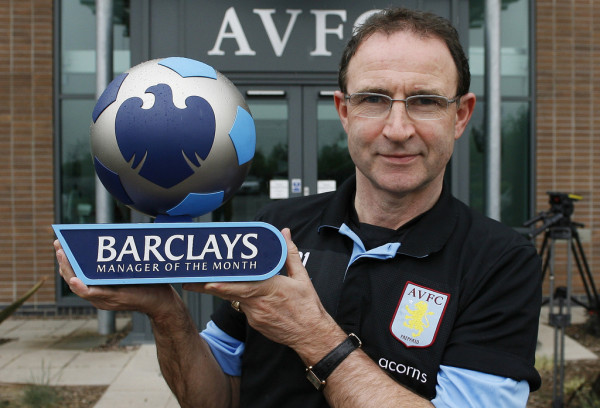 Martin O'Neill - Barclays Manager of the Month - April 2010