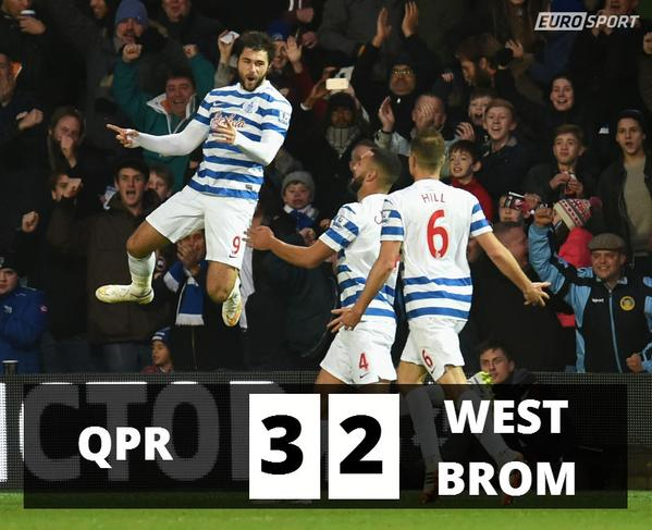 Watch QPR 3-2 West Bromwich Albion Match Highlights [VIDEO]